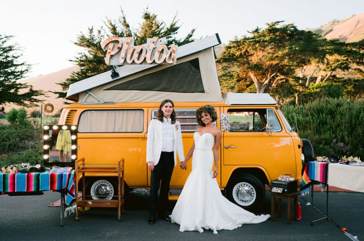 Black Tie Meets Hippie Chic Big Sur Wedding