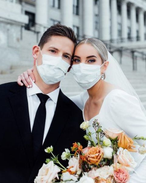 stay healthy wearing masks yourselves, too