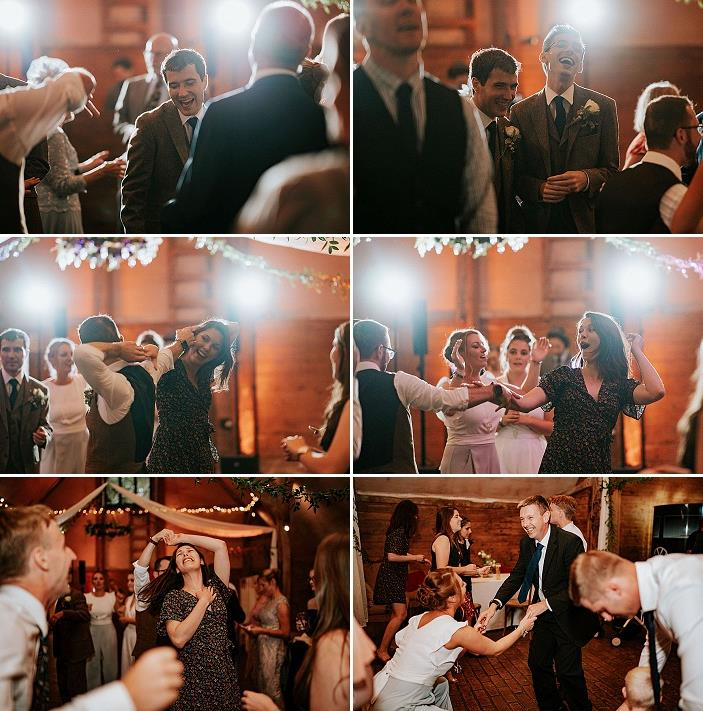 The wedding turned out to be super cheerful and heart warming