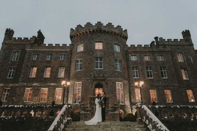 Markree Castle became a fabulous wedding reception space with timeless elegance