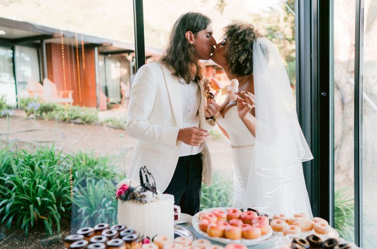 donuts are perfect addition to any wedding dessert table