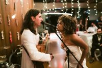 11 The groom wrote his own song about how they met and about their love and played it at the wedding