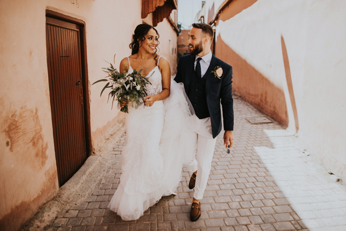 Breathtaking Multicultural Marrakech Wedding At A Riad