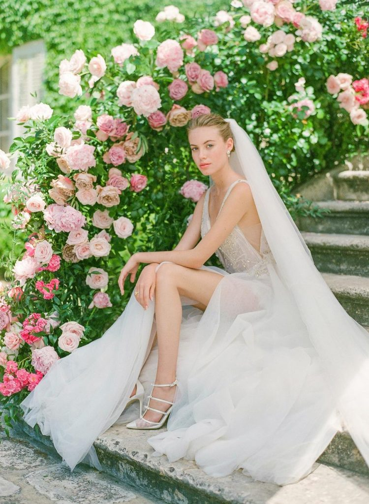 Refined Vibrant Pink Wedding Shoot In Provence