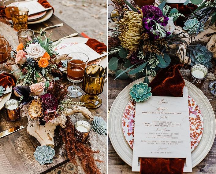 driftwood is a great addition to wedding decor