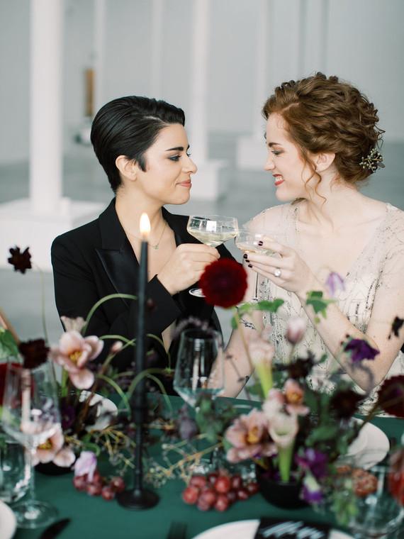 Gorgeous brides and a gorgeous wedding shoot, isn't it