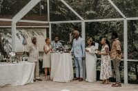 11 Family and friends took as much part as they could in wedding preparations and they were willing to help