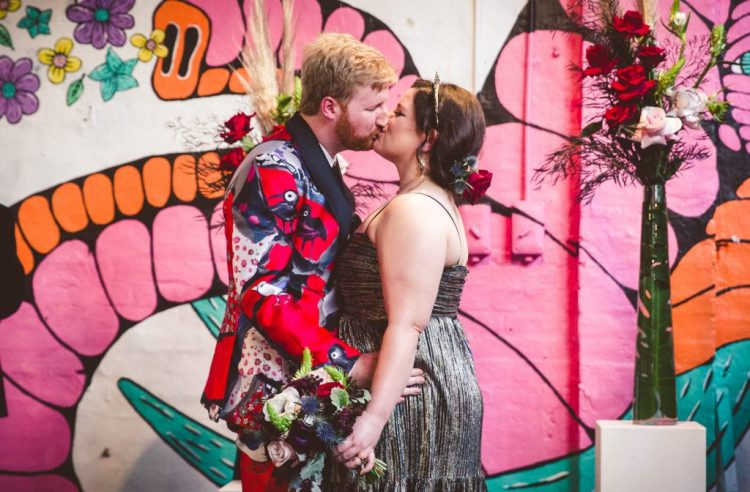 Colorful And Artistic Australian Wedding With A Parade