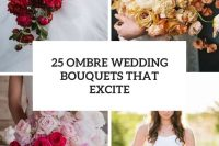25 ombre wedding bouquets that excite cover