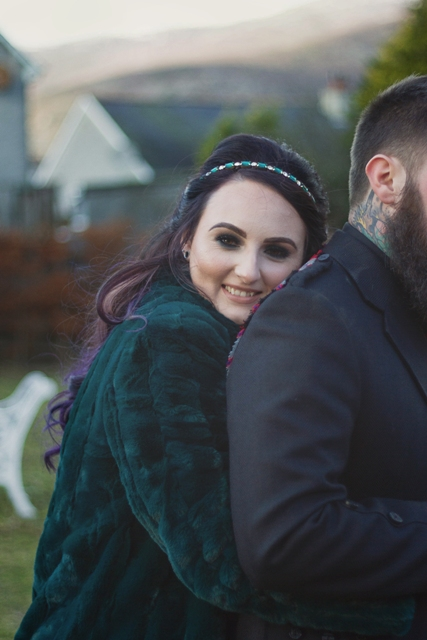 Breathtakingly Beautiful Micro Wedding In Scotland