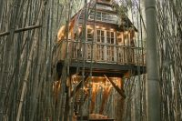 The treehouse is a unique detail of this venue