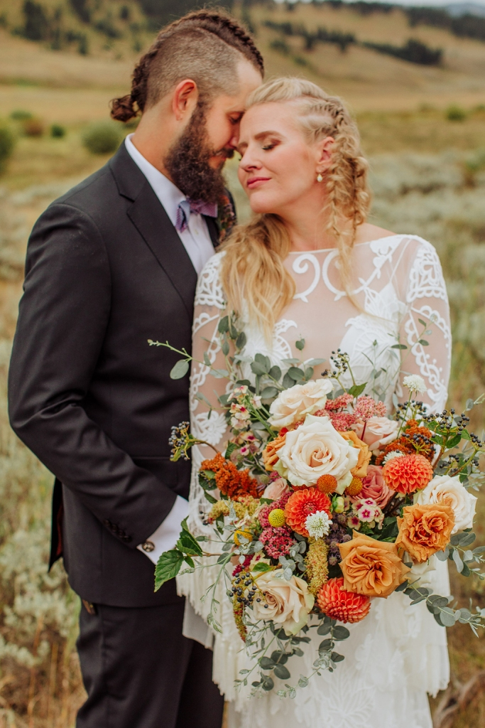 Midwestern Boho Meets Nordic Inspired Wedding
