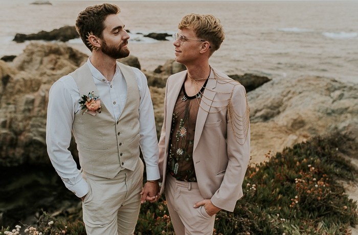 Forest Meets Ocean Big Sur Micro Wedding