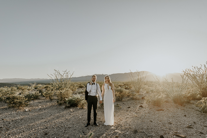 Intimate Airbnb Wedding In The Chihuahuan Desert