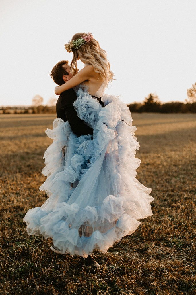 Whimsical And Romantic Taylor Swift Wedding Shoot