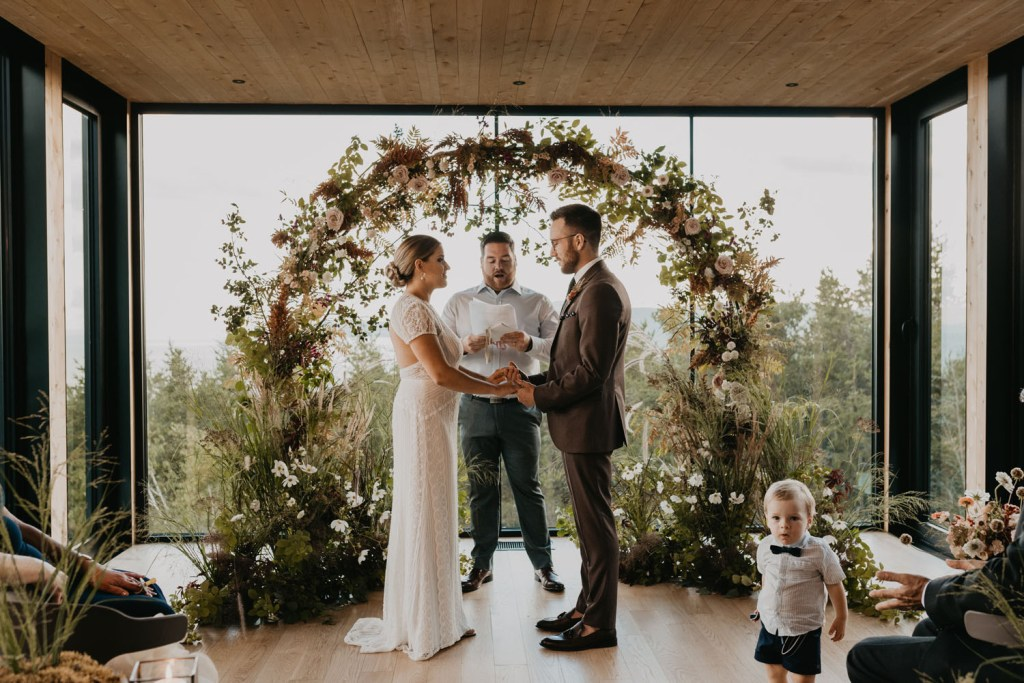 Nature Inspired Wedding Shoot Turns Into A Real Elopement