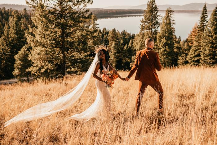 Vibrant And Modern Scandinavian Wedding Shoot