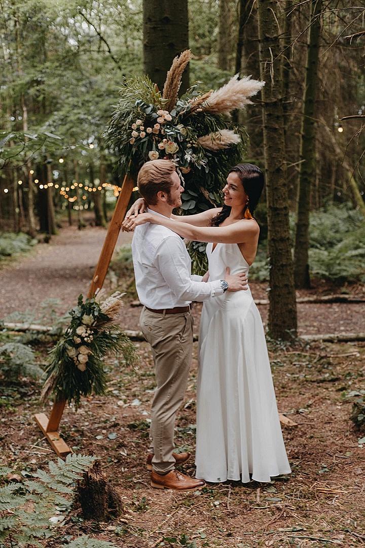Natural Wild Boho Luxe Wedding Shoot