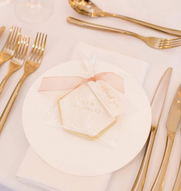 individually packed monogram and wedding date cookies are classics for all weddings, and everyone loves them