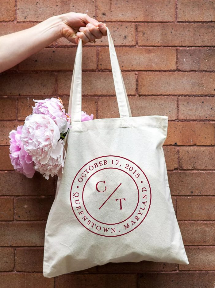 a reusable tote encourages an eco-friendly change in your guests' daily habits, it helps to reduce waste from single-use plastic bags