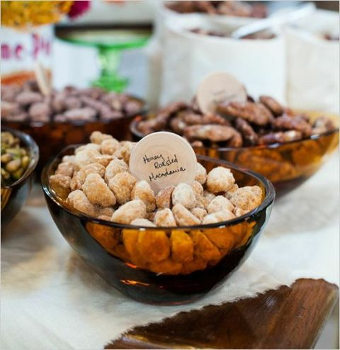 Picture Of Delicious Wedding Nut Ideas And Ways To Display Them 18