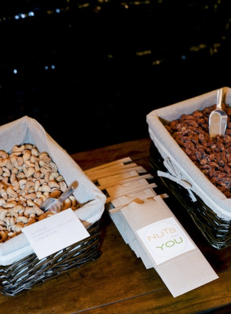 Picture Of Delicious Wedding Nut Ideas And Ways To Display Them 19