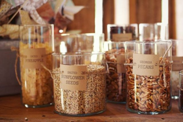 Picture Of Delicious Wedding Nut Ideas And Ways To Display Them 6