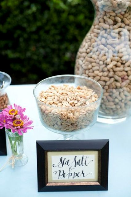 Picture Of Delicious Wedding Nut Ideas And Ways To Display Them 8