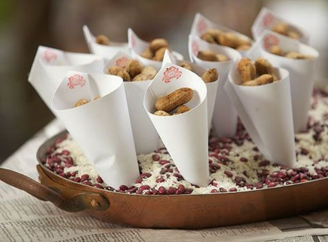 Picture Of Delicious Wedding Nut Ideas And Ways To Display Them 9