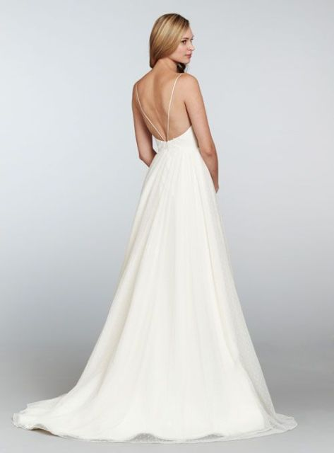 20 Spaghetti Strap Backless Wedding Gowns - Weddingomania