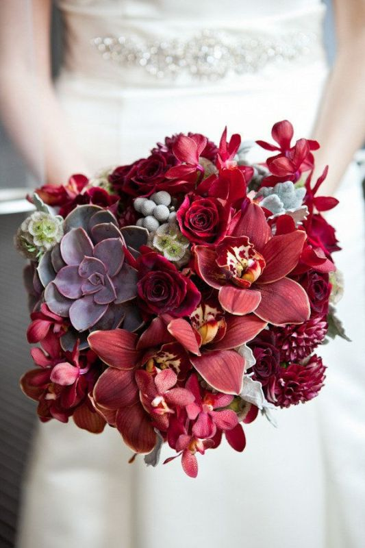 Amazing Textural Wedding Bouquets To Get Inspired