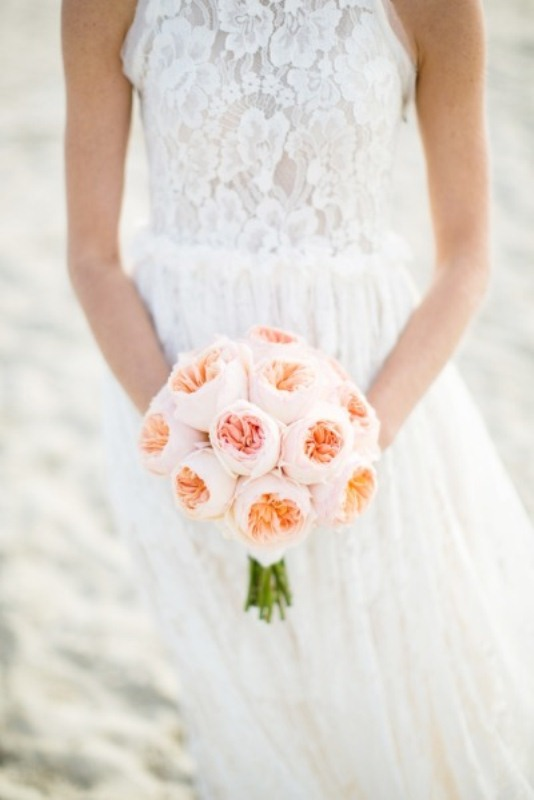 Picture Of most gorgeous garden rose bridal bouquets  12