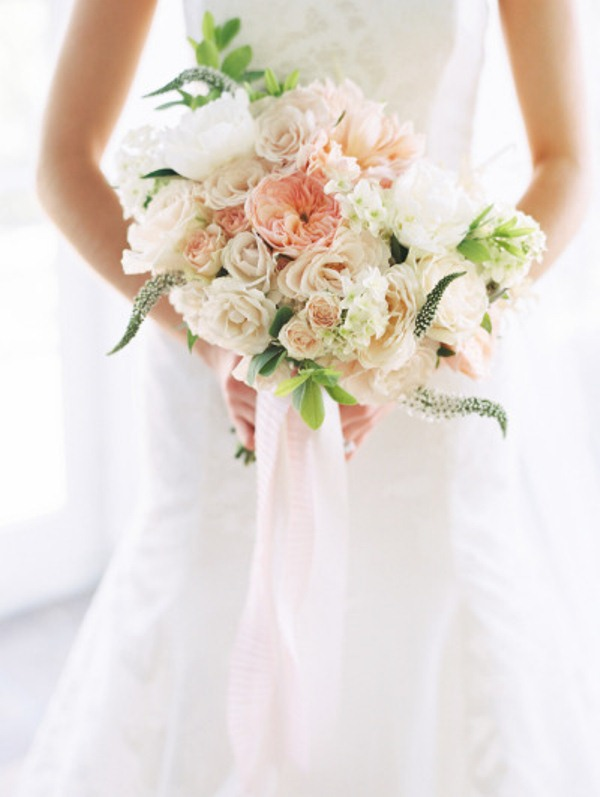 Picture Of most gorgeous garden rose bridal bouquets  13