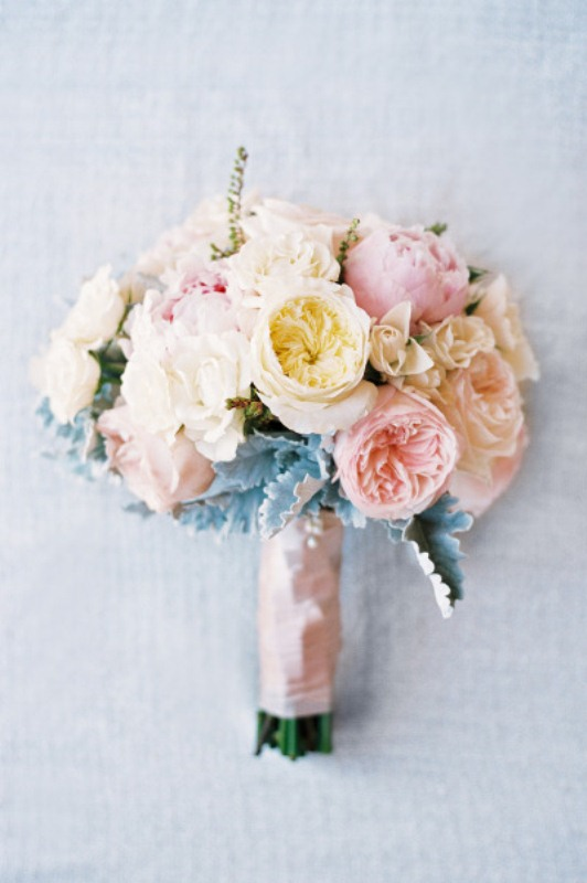 Picture Of most gorgeous garden rose bridal bouquets  19