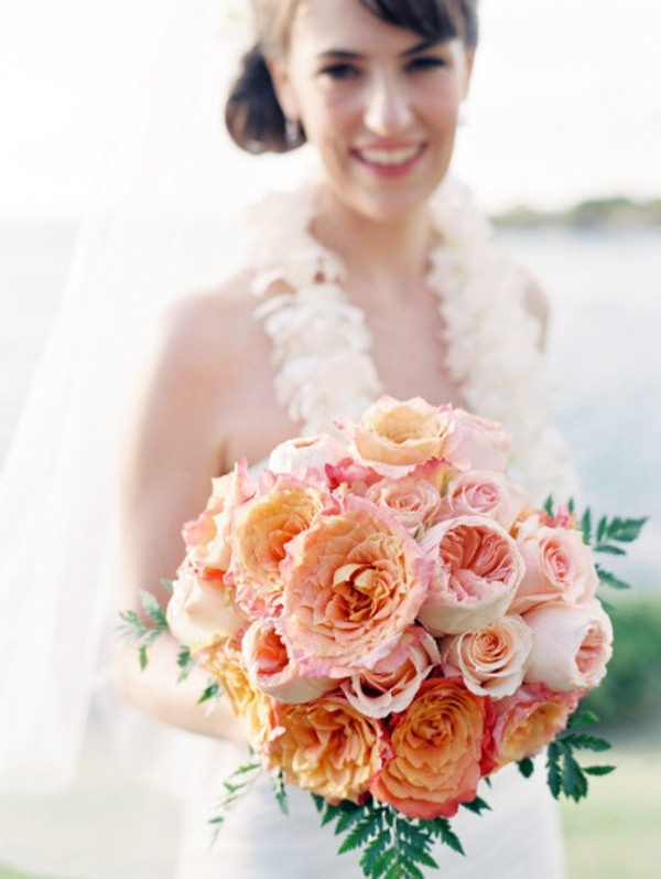 Picture Of most gorgeous garden rose bridal bouquets  2