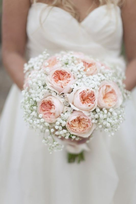 Picture Of most gorgeous garden rose bridal bouquets  3
