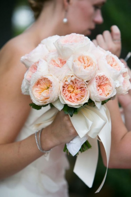 most gorgeous garden rose bridal bouquets - Garden Rose Bouquet