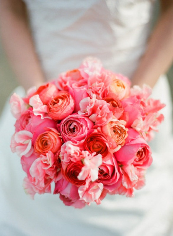 Picture Of most gorgeous garden rose bridal bouquets  7