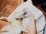 crochet gloves and pearl bracelets will accent any vintage bridal look and make it very special
