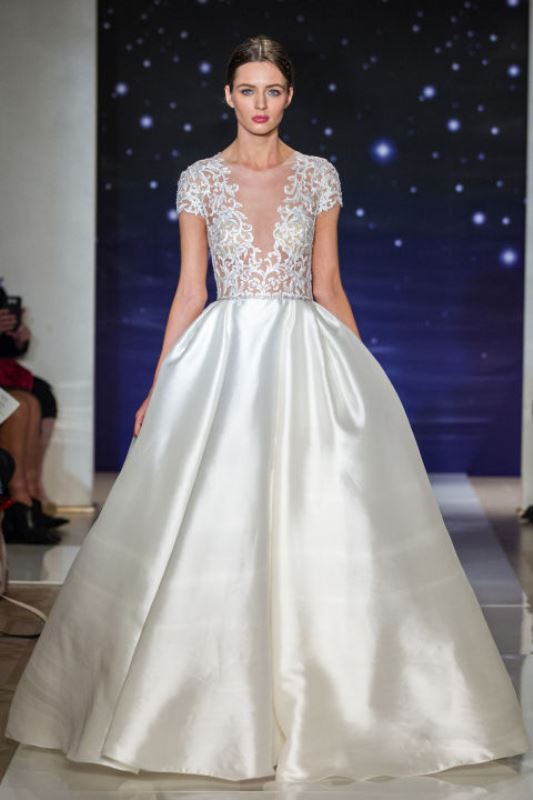 Picture Of trendy dresses bridal fashion week 2016 that took our ...