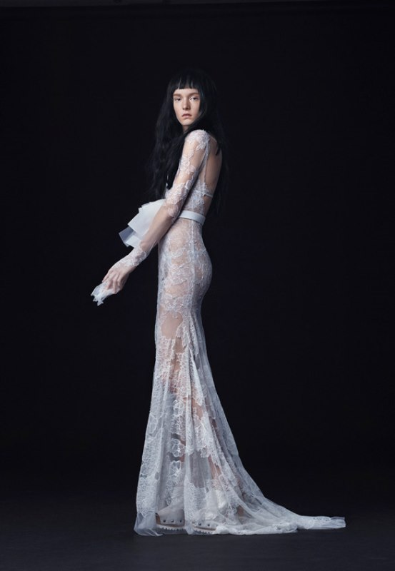 Picture Of trendy dresses bridal fashion week 2016 that took our breath away  12