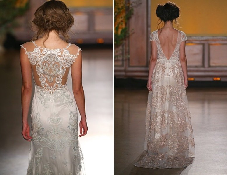 Picture Of trendy dresses bridal fashion week 2016 that took our breath away  15