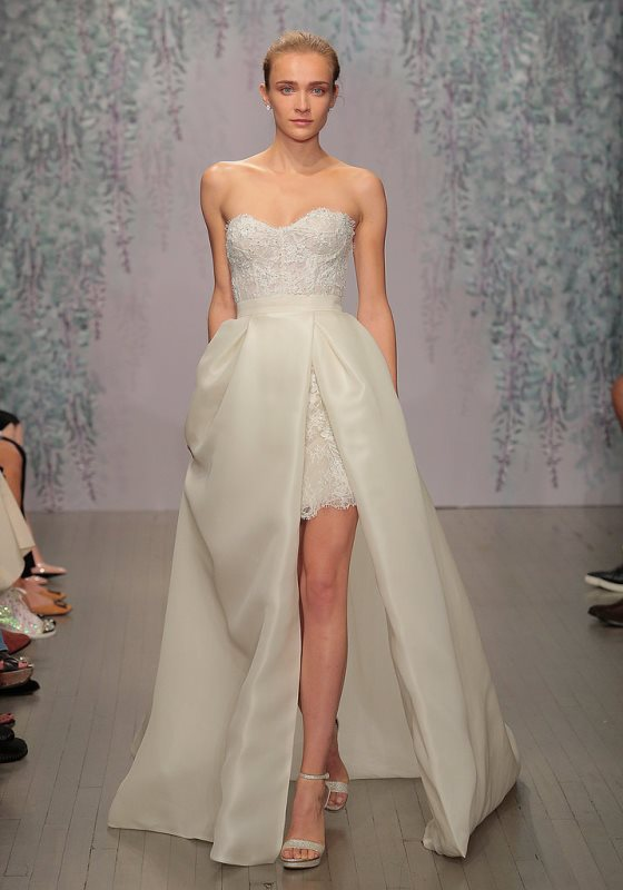 Picture Of trendy dresses bridal fashion week 2016 that took our breath away  16