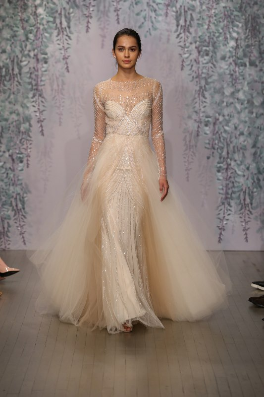 Picture Of trendy dresses bridal fashion week 2016 that took our breath away  19