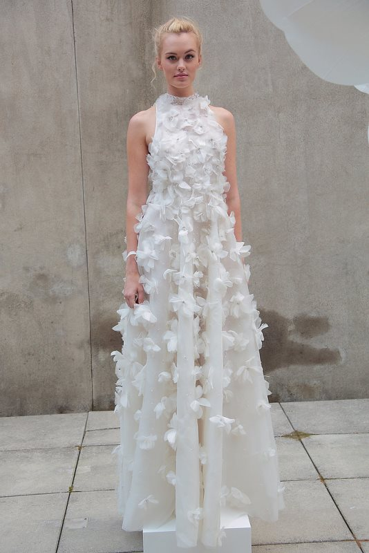 Picture Of trendy dresses bridal fashion week 2016 that took our breath away  2