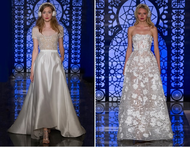 Picture Of trendy dresses bridal fashion week 2016 that took our breath away  20