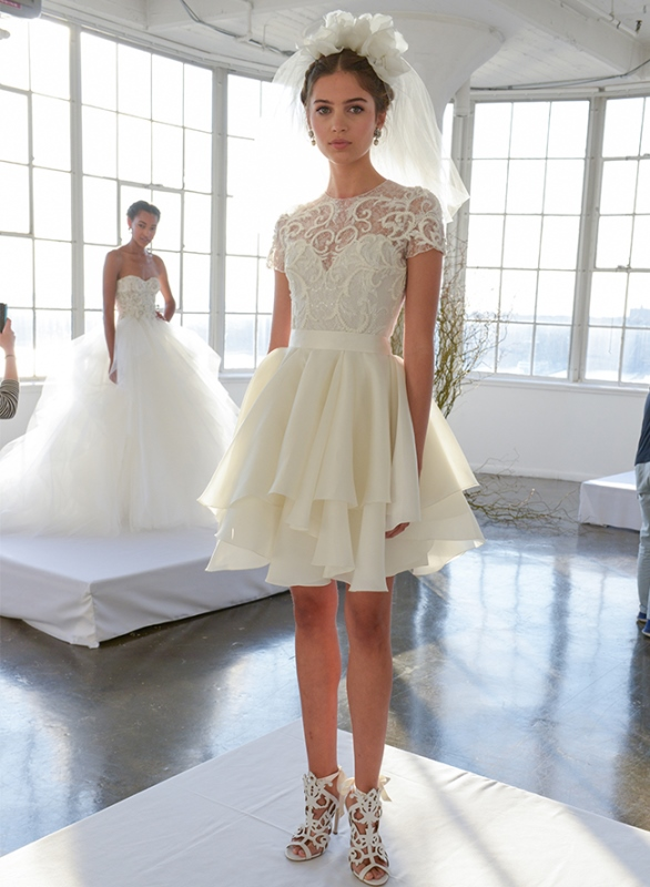 Picture Of trendy dresses bridal fashion week 2016 that took our breath away  21