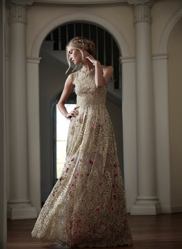 Picture Of trendy dresses bridal fashion week 2016 that took our breath away  6