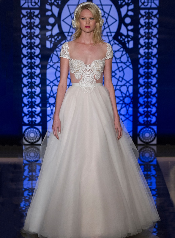 Picture Of trendy dresses bridal fashion week 2016 that took our breath away  7