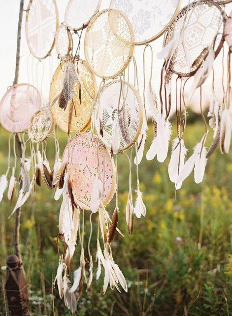 Boho Dream Catcher Wedding Décor Ideas